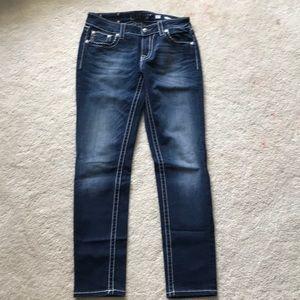 Miss Me Skinny Jeans. Size 30